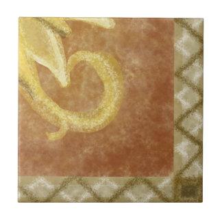 C3 - Sunface Mural, Bottom Right - C3 Ceramic Tile