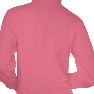 C3 Women's Fleece Zip Hoodie, Pink Hooded Pullovers
