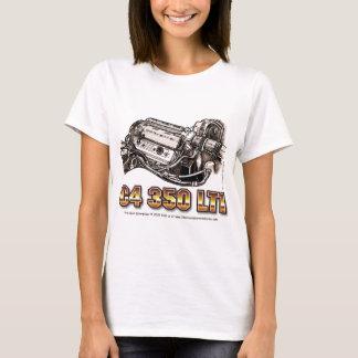 C4 350 LT1 Corvette Engine T-Shirt