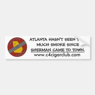 C4 Cigar Club Sherman Bumper Sticker