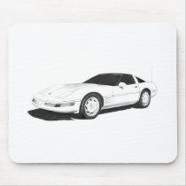C4 Corvette Mouse Pad