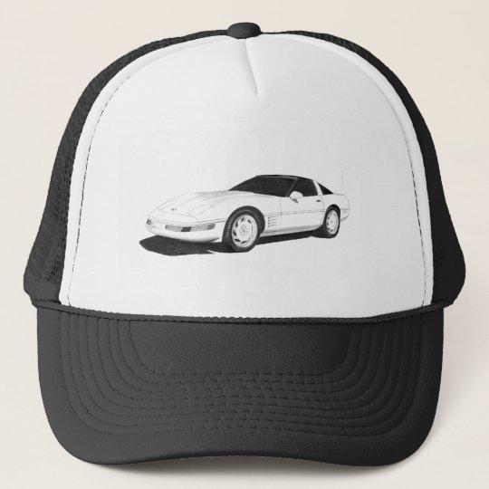 C4 Corvette Trucker Hat