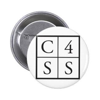 C4SS ajustado Pin Redondo De 2 Pulgadas