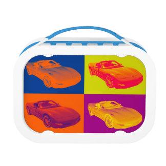 C5 Corvette Convertible Car Pop Art Lunchboxes