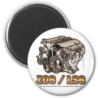 C5 Z06 LS6 2 INCH ROUND MAGNET