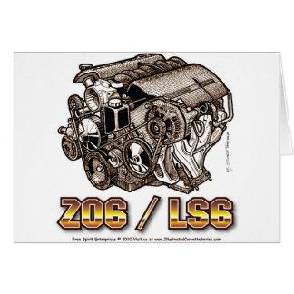 C5 Z06 LS6 TARJETAS