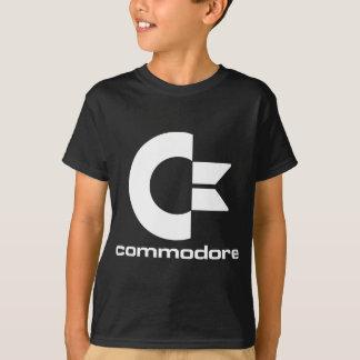 C64 Logo on Dark Background T-Shirt