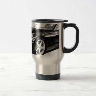 C6 corvette travel mug