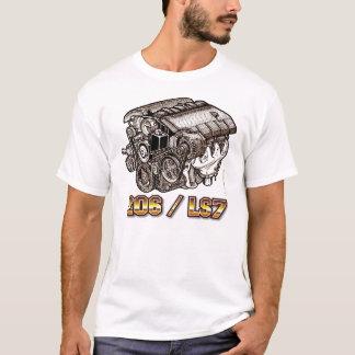 C6 Corvette Z06 LS7 Engine T-Shirt