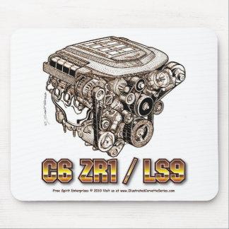 C6 ZR1/LS9 MOUSE PAD