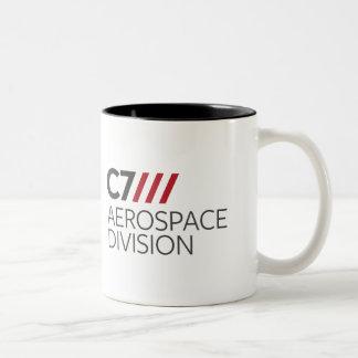 C7 Aerospace Division Two-Tone Coffee Mug