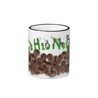C8H10N4O2 RINGER COFFEE MUG