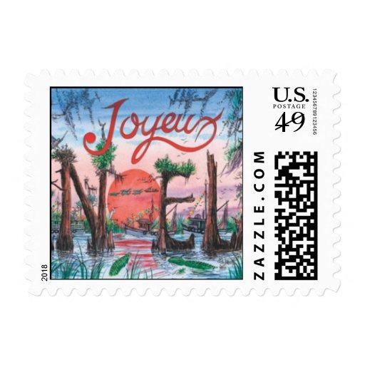 C9B Joyeaux Noel Sm Stamp