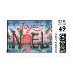 C9B Joyeux Noel Postage Stamps