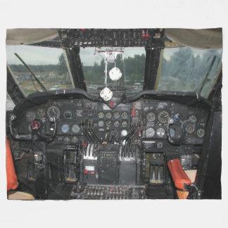 C-124 Globe Master Fleece Blanket