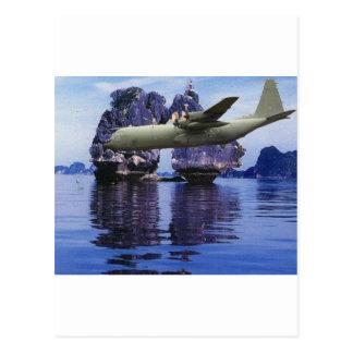C-130 en alguna parte en el South Pacific Postal