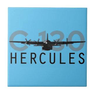 C-130 Hércules Azulejo Cuadrado Pequeño