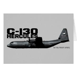 C-130 Hercules Card