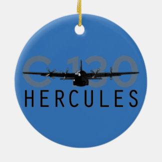 C-130 Hercules Ceramic Ornament
