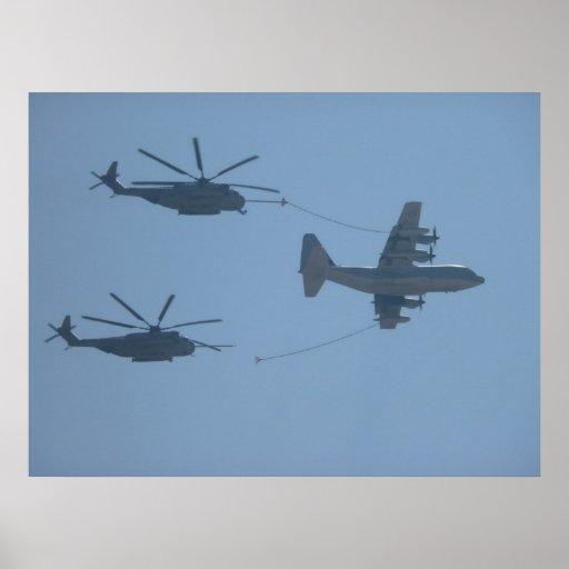 C-130 HERCULES CH-53E SUPER STALLION PRINT