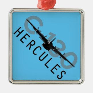 C-130 Hercules Metal Ornament