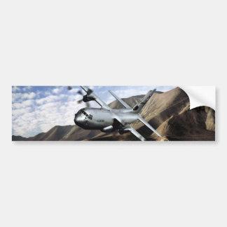 C-130 HERCULES Military Airplane Bumper Sticker