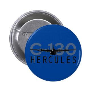 C-130 Hércules Pin Redondo 5 Cm