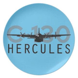 C-130 Hercules Dinner Plates