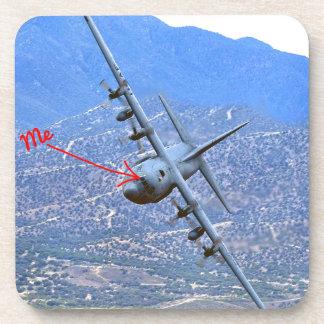 C-130 LOW LEVEL DRINK COASTER