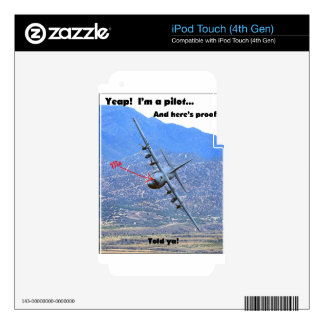 C-130 LOW LEVEL iPod TOUCH 4G SKINS