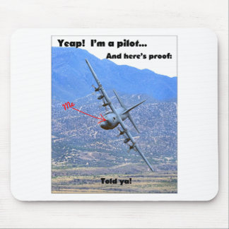C-130 LOW LEVEL MOUSE PAD