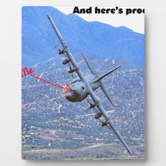 C-130 LOW LEVEL PLAQUE