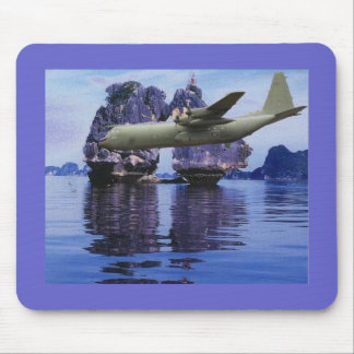 C-130 Somewhere in the South Pacific Mousepads