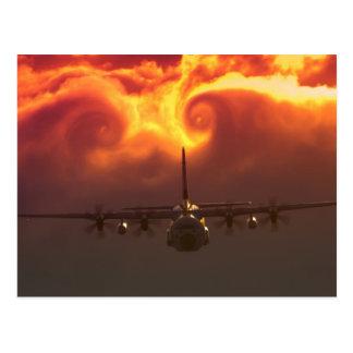 C-130 vortex postcard