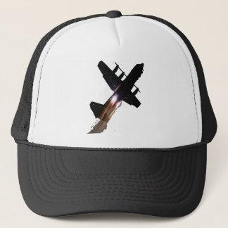 C-130 WITH JATOS ON TRUCKER HAT