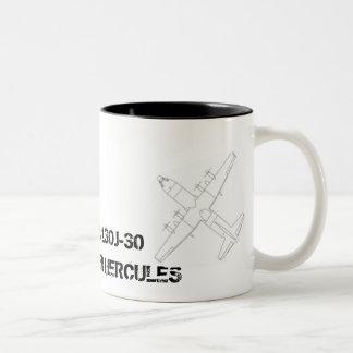C-130J-30 Hércules Taza De Dos Tonos