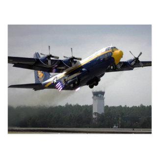"C-130T Hércules - ángeles azules Postcar de ""Alber Postal"