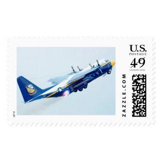 C-130T Hércules - franqueo de los ángeles azules Timbre Postal