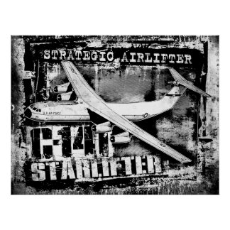 C-141 Starlifter Poster Poster