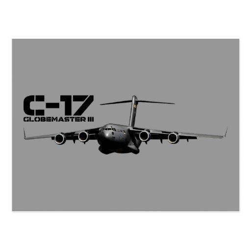 C-17 Globemaster III Postales