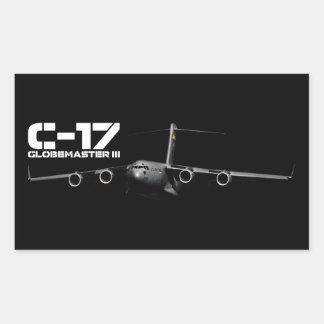 C-17 Globemaster III Rectangular Sticker