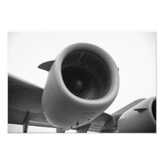 C-17 Inboard Engine Photo Print
