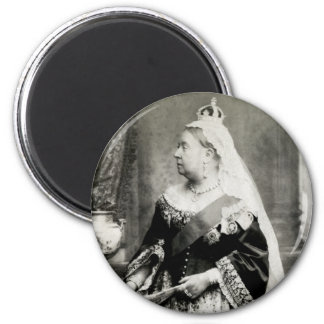 C. 1880 Queen Victoria of England 2 Inch Round Magnet