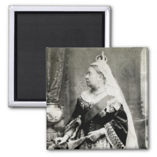 C. 1880 Queen Victoria of England 2 Inch Square Magnet