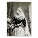 C. 1880 Queen Victoria of England Greeting Card