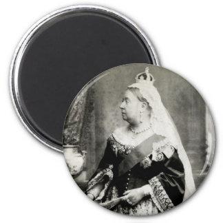 C. 1880 Queen Victoria of England Magnet