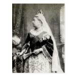 C. 1880 Queen Victoria of England Post Card