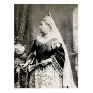 C 1880 Queen Victoria of England Post Card