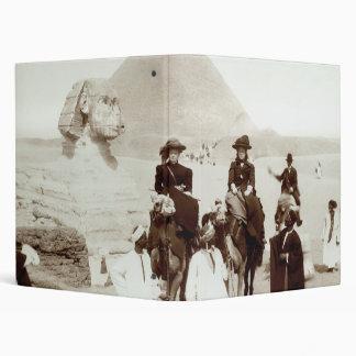 """C. 1885 americanos en Egipto Carpeta 1"""""""