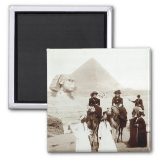 C. 1885 Americans in Egypt 2 Inch Square Magnet